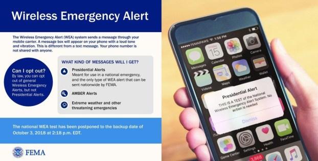 Wireless Emergency Alert