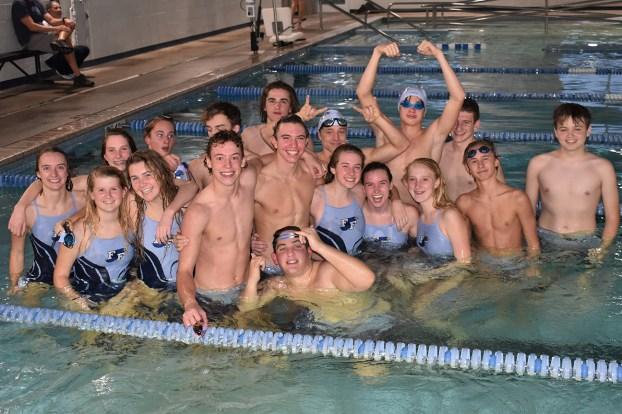 dual swim meet