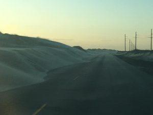 wind-blown sand