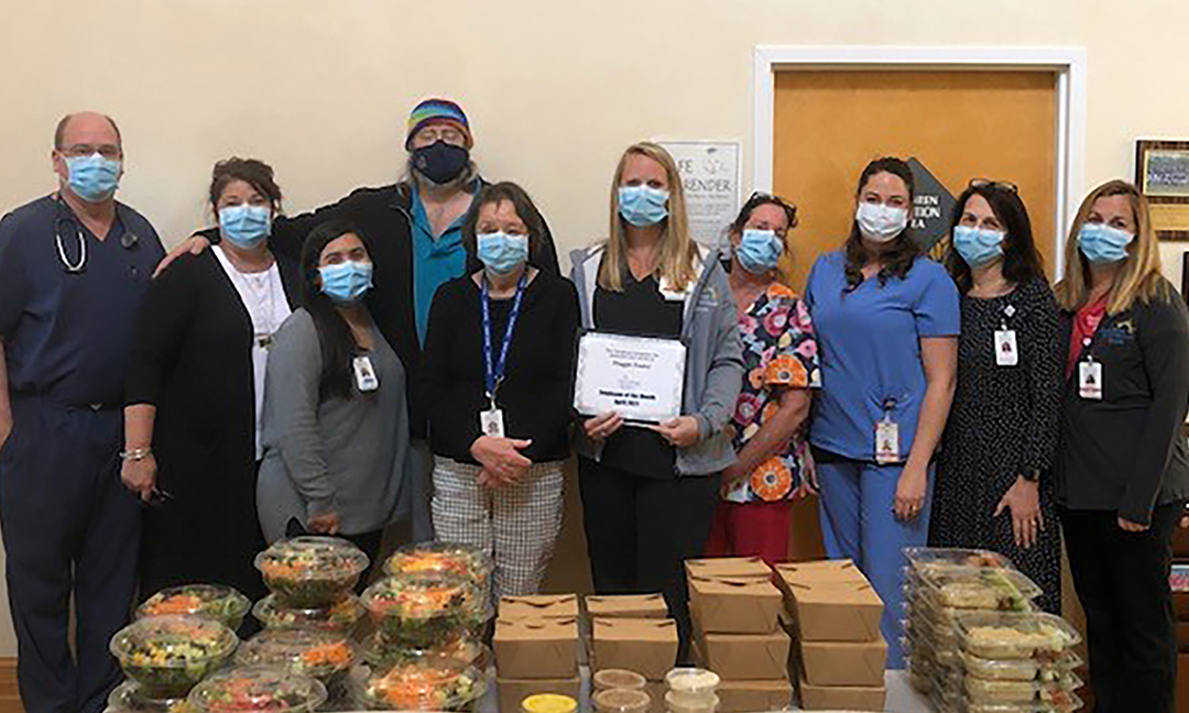 Maggie Easley named Outer Banks Hospital Employee of the Month for April - The Coastland Times   The Coastland Times - The Coast